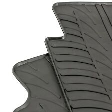 Peugeot Partner Van II 2008 - 2018 Tailored Rubber Black Moulded Floor Mats Set