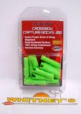Parker Red Hot Crossbow Capture Nocks Bolt Ends - Green - 12 Pk #38-3362