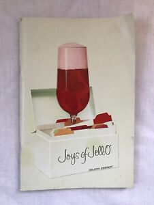 Vintage JOYS OF JELL-O Gelatin Dessert / Jello Collectible Recipe Book Cookbook