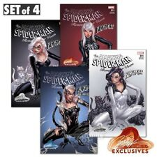Amazing Spider-Man Renew Your Vows #11 J Scott Campbell Variant Set Of 4! NM