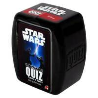 OFFICIAL STAR WARS TOP TRUMPS FAMILY TRIVIAL QUIZ GAME WITH A TWIST NEW IN BOX