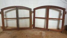 Angebot !!!DS120  Fenster mit 2Türen + Bogen, Gussfenster, Stallfenster, Rost