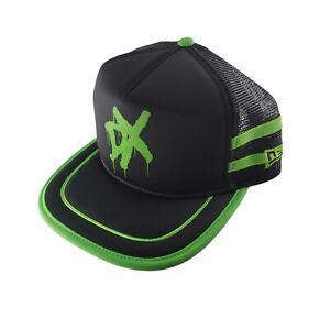 "RARE DX D-Generation X WWE New Era ""RETRO GOLFER"" Black & Green Snapback PROMO"