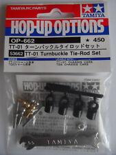 Tamiya TT-01/TT-02 Turnbuckle Tie Rod Set TT01/TT02/TT01E/TT01D/TT02D/TGS 53662