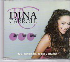 (EW611) Dina Carroll, One, Two, Three - 1998 CD