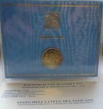 Vaticano 2 euro conmemorativa 2012 mundo reunión familiar milán blister coincard bu