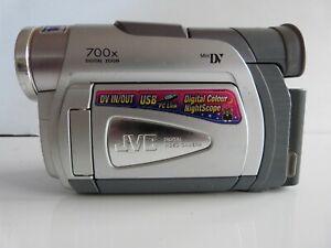 JVC GR-D50AA  Mini DV Digital Video Camcorder. Transfer old tapes to PC/DVD
