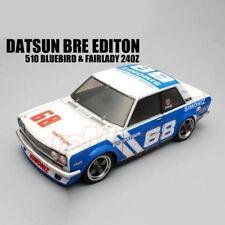 ABC Hobby 1:10 Mini Datsun 510 #68 Clear Body Gambado M05 M06 EP RC Cars #66311
