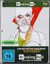 """BREAKING BAD - Season Fünf"" - Kult Thriller Serie - BLU RAY STEELBOOK - neu/OVP"