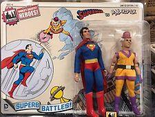 DC Comics Mego Style 8 Inch Retro Figure Two-Packs: Superman VS. Mr. Mxyzptlk