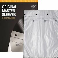 100 - Mobile Fidelity MFSL MOFI Original Master Record Inner Anti Static Sleeves