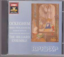 Hilliard Ensemble OCKEGHEM - EMI CDC 7 49798 2 Made in W.Germany No IFPI
