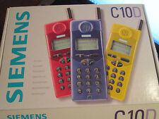 Siemens C10D OVP blau nur für D1 Telekom + D 2 Vodafon super ok gebr Art Nr. 14