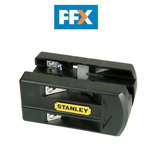 Stanley STA016139 Laminate Trimmer Double Edged Twin Blade Spring loaded Veneer