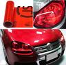 30x100cm Red Car Van Headlight Fog Taillight Wrap Tint Vinyl Film Sticker Decal