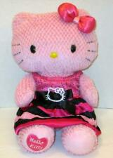 """Build A Bear Pink Hello Kitty Dress Bow Outfit 18"""" Heart On Foot Plush Lot Doll"""