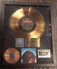 KISS RIAA GOLD LP Record Award Hot in the Shade Gene Simmons Paul Stanley HITs