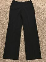 Fashion Bug Womens Size 6 Black Polyester Stretch Dress Pants NWT A45