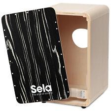 Sela CaSela Cajon Kit - Removable Snare, Made in Germany, Pro Model - Makassar