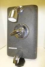 KOHLER SHOWER FAUCET WITH HEAD AND DRAINAGE CHROME NEW