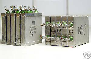 8x MP-Kondensator 4 µF / 160V für Audio