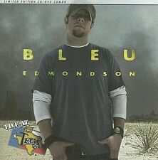 Live at Billy Bob's Texas by Bleu Edmondson...Limited Edition  CD/DVD...SEALED