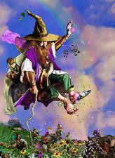 "Tom Cross "" Spring Forth "" Fantasy Fairy of Magic! S/N Rainbow & Gold"