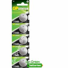 3 X GP Cr2450 3v Lithium Coin Cell Battery 2450 Dl2450