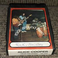 Alice Cooper From The Inside 8 track tape tested BOOTLEG? vtg LATE NITE BARGAIN