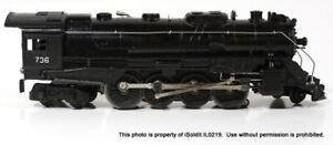 VINTAGE LIONEL 736 ENGINE Locomotive Train W/ BOX + EXTRA PARTS