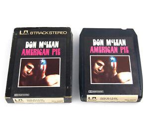 Don McLean - American Pie - 8 Track Cassette Tape United Artists 8XU 29285
