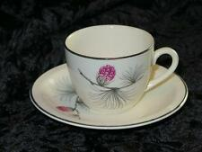 Replacement China Cup & Saucer Pine Cone Pattern RUSSELL HOBBS 1950/60s