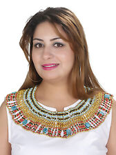 Kleopatra Pharao Collier Tut Anch Amun Halskette Karneval Fasching - BC0024