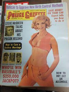 Vintage Police Gazette September 1971