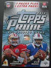 Nfl Topps Prime Football 2013 trading card box seald/embalaje original