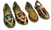 Ladies Genuine Authentic Mexican Leather Closed Toe Flat Quality Sandals