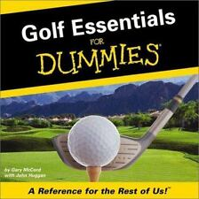 Golf Essentials For Dummies: A Reference For The Rest Of Us-ExLibrary