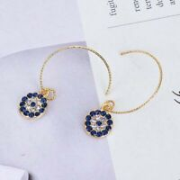 Elegant Small Evil Eye Earrings Female Earrings Retro Ear Hook Women Jewelry AU.
