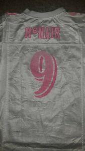 Youth Kids Girls Reebok NFL  Ravens Steve McNair  White Pink Jersey Size M