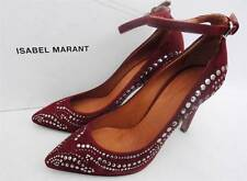 Isabel Marant Stanley Stud Leather Heels Shoes UK3 Fr37  -RRP630GBP