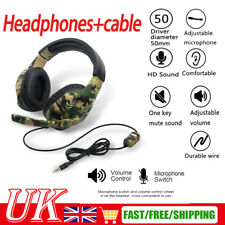 3.5mm Gaming Headphones Headset With MIC For PC Switch Laptop PS4 PS3 Xbox One