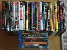 DVD Blue Ray FILME Sammlung HELLBOY Predator Peace Maker MANGA Action HORROR
