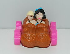 "1993 Betty & Bam Bam Car 2"" McDonald's Action Figure Flintstones"