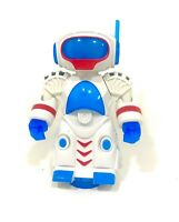 My Robot Battery Operated Bump & Go Action Figure Light and Sound For Kids Play