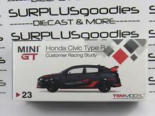 Mini-GT 1:64 Overseas Edition LHD HONDA CIVIC Type-R FK8 Customer Racing Study