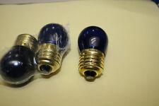 GLOBES LAMPS ES 110 120 Volt 7.5 watt Rowe Rock-Ola Bubbler juke jukebox colours