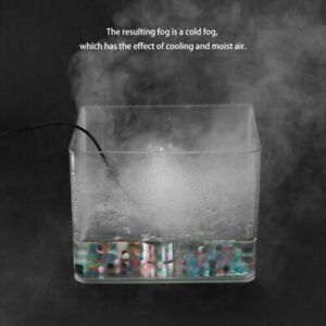 Fountain Pond Atomizer Air Humidifier LED Ultrasonic Mist Maker Fogger White