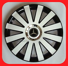 "15""  Wheel trims for MERCEDES VITO , A Class  4 x15""   black - white"