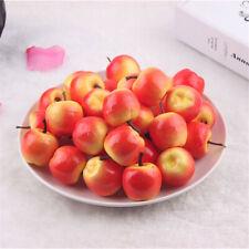 Pack of 50 Artificial Plastic Foam Apples Miniature Fruit Wedding Home Decor