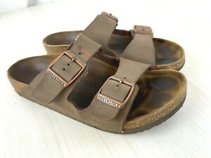 BIRKENSTOCK Classic Arizona Stone Sandal Kids Size EU 32 US 1-1 1/2 Narrow
